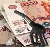 деньги и пистолет азс