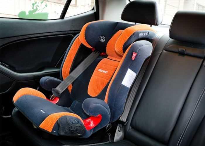 Штраф за отсутствие детского кресла
