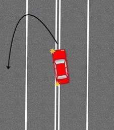 Штраф за пересечение двойной сплошной линии разметки