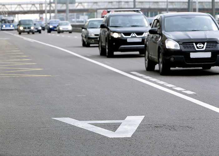 Запрет на движение тс по полосе для маршрутных тс повторное нарушение