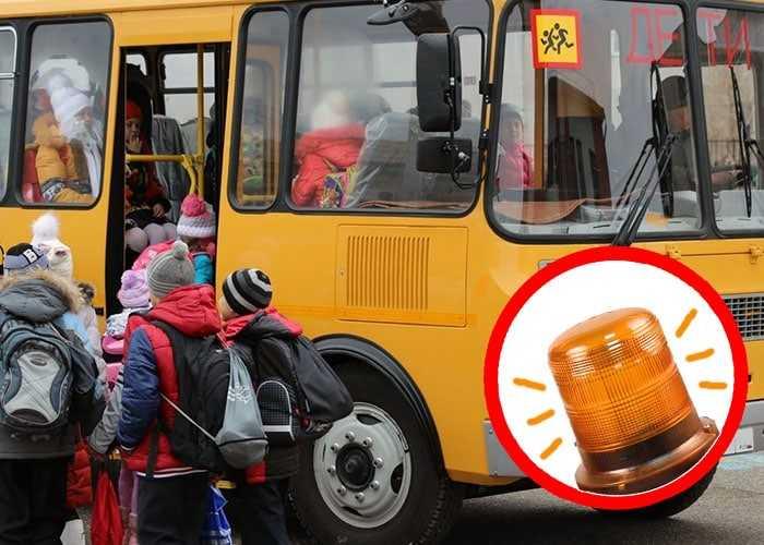 Правила перевозки людей в школьном автобусе